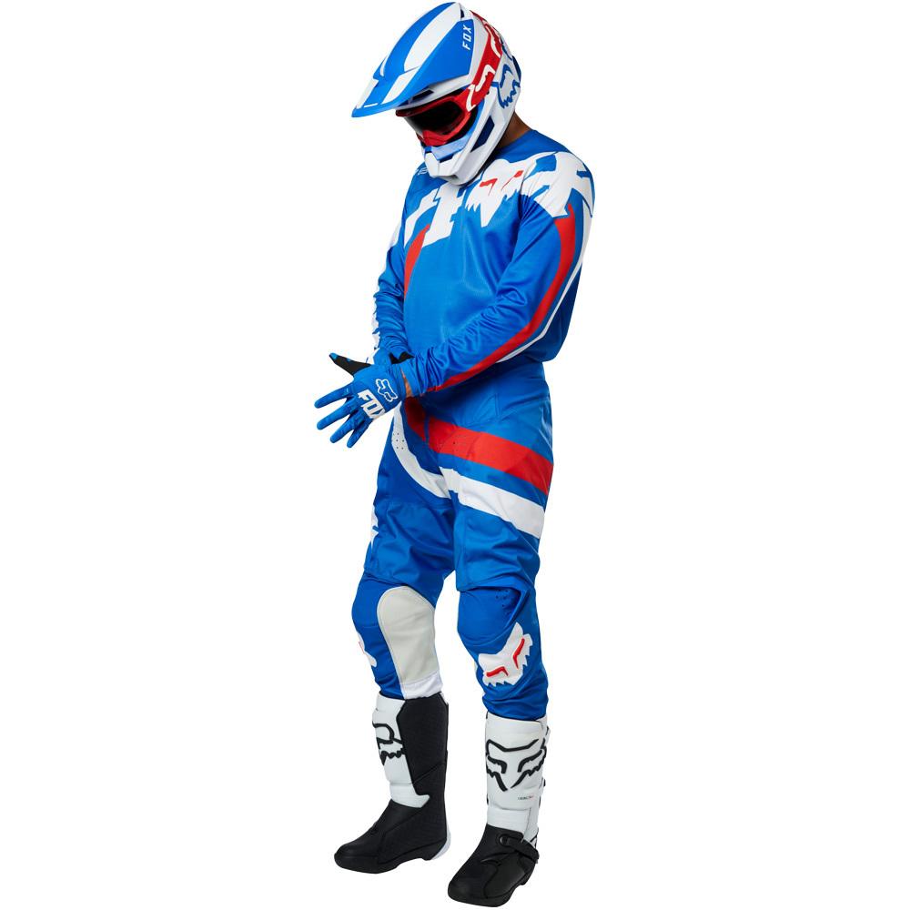 Fox - 2019 180 Cota Blue комплект джерси и штаны, синие