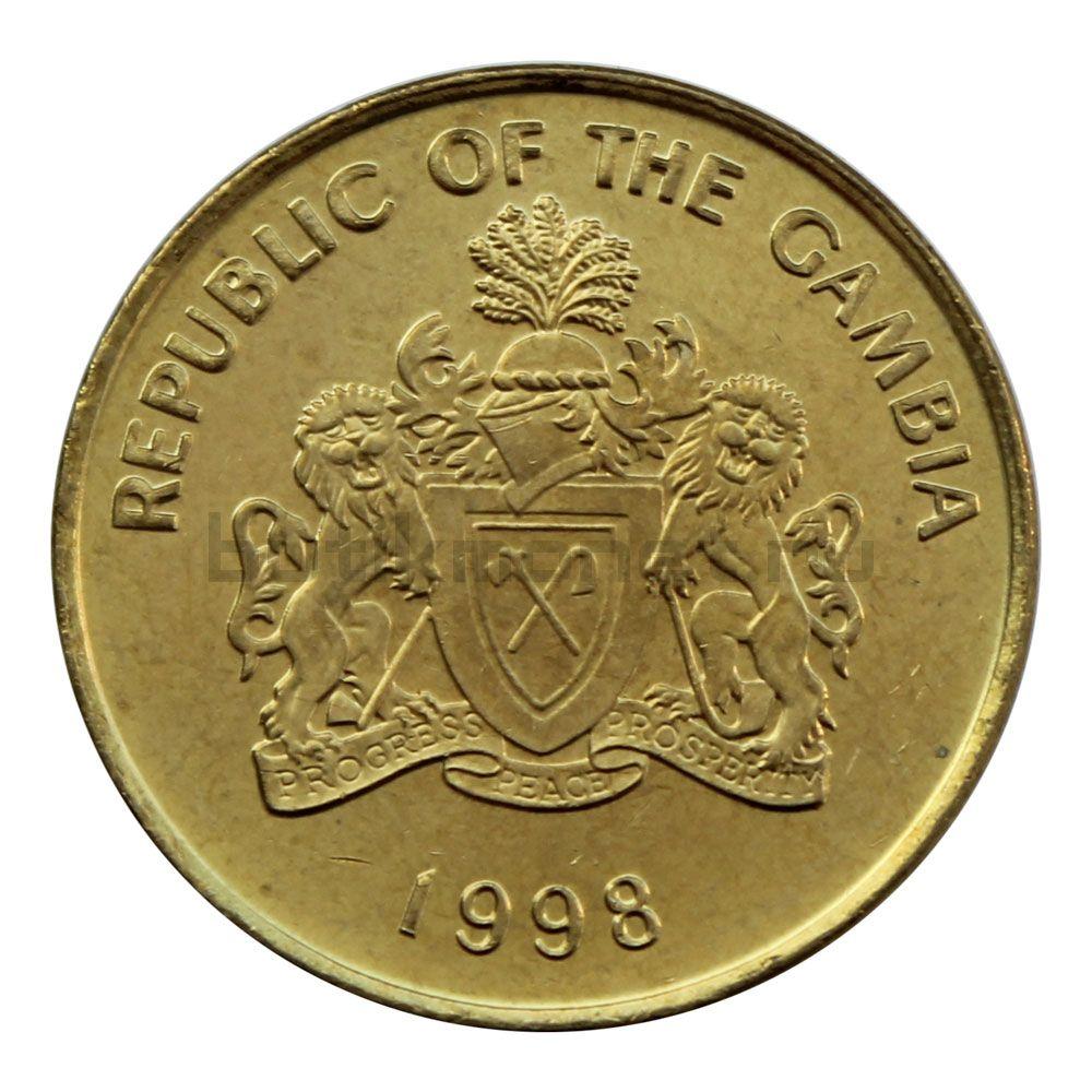 10 бутутов 1998 Гамбия