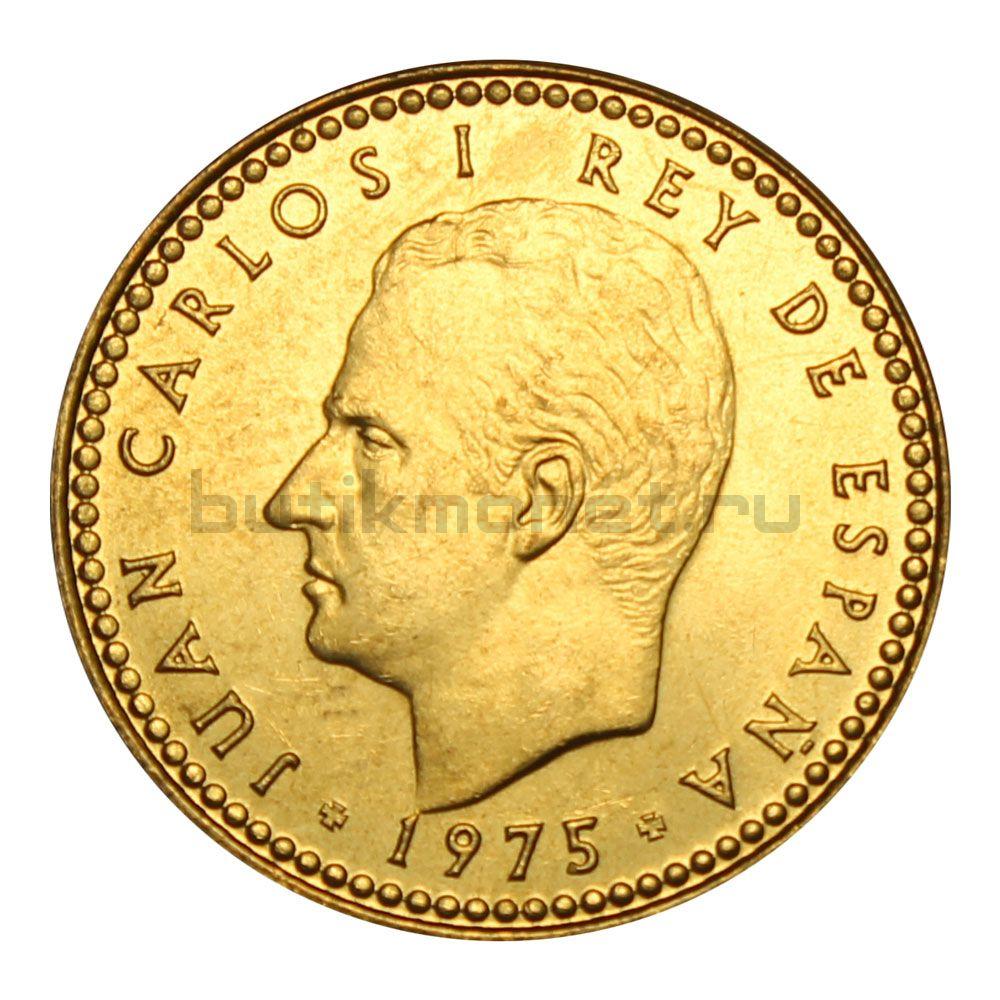1 песета 1975 Испания