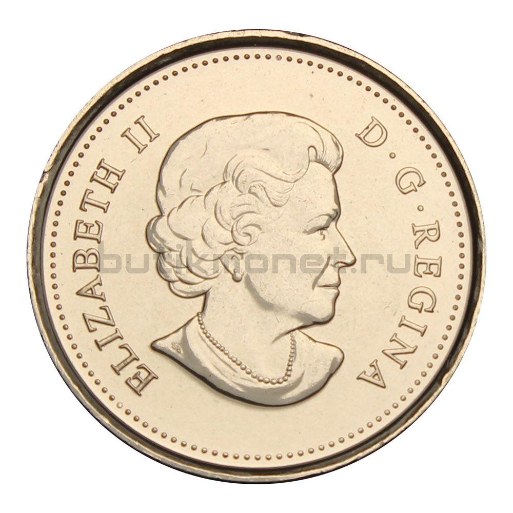 25 центов 2011 Канада Бизон (Природа Канады)