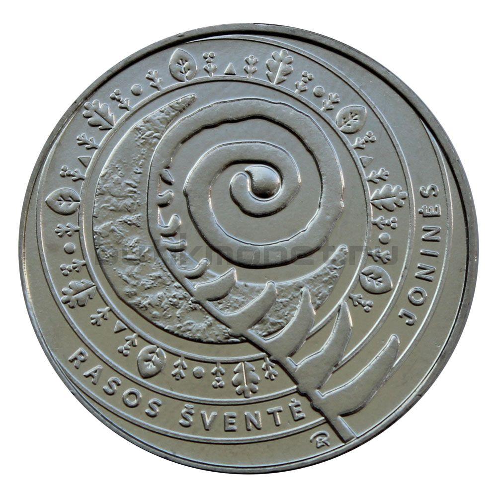 1 1/2 евро 2018 Литва Иван Купала (Традиционные праздники Литвы)