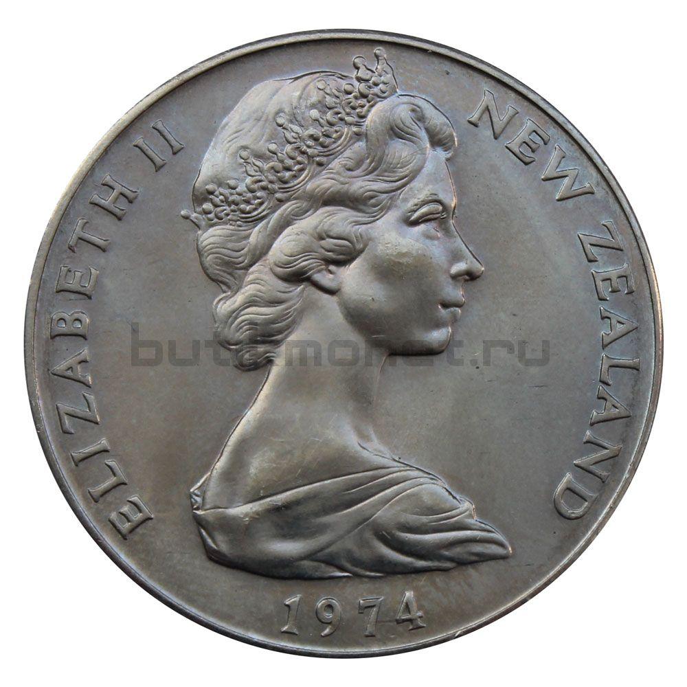 1 доллар 1974 Новая Зеландия X Британские Игры Содружества