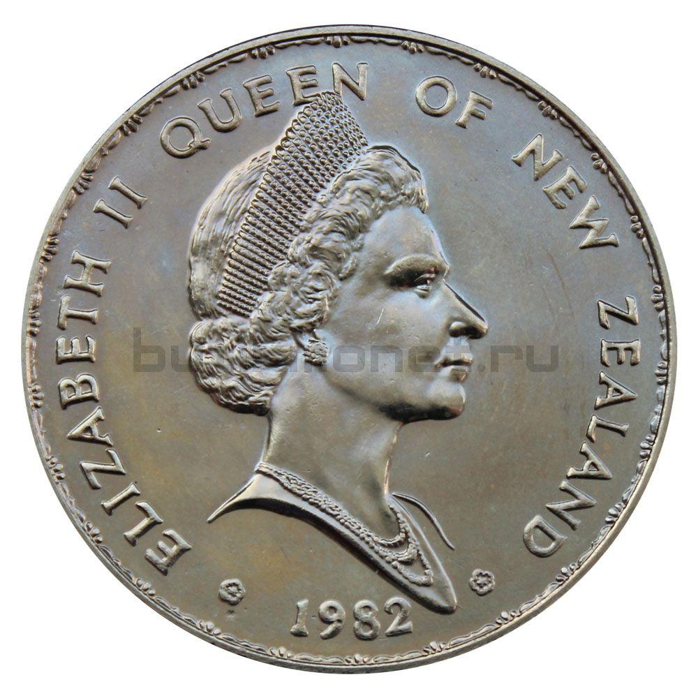 1 доллар 1982 Новая Зеландия Такахе