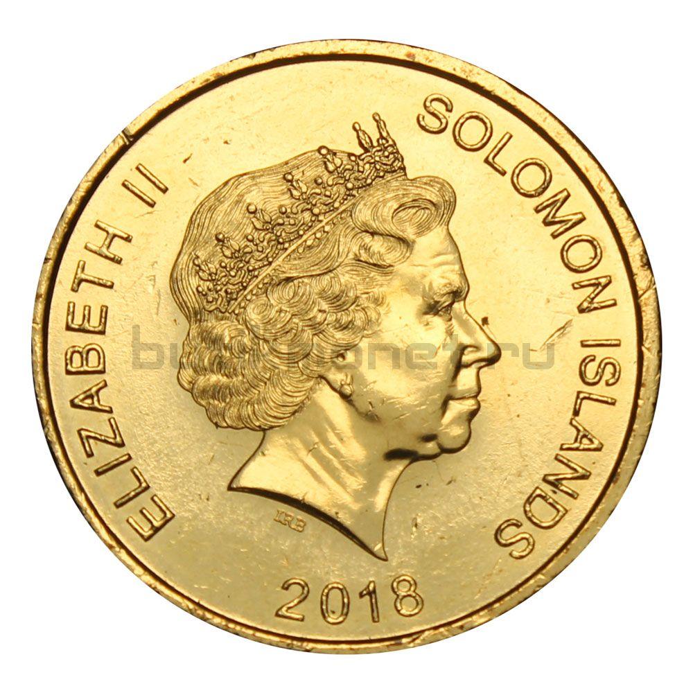 2 доллара 2018 Соломоновы Острова 40 лет Независимости
