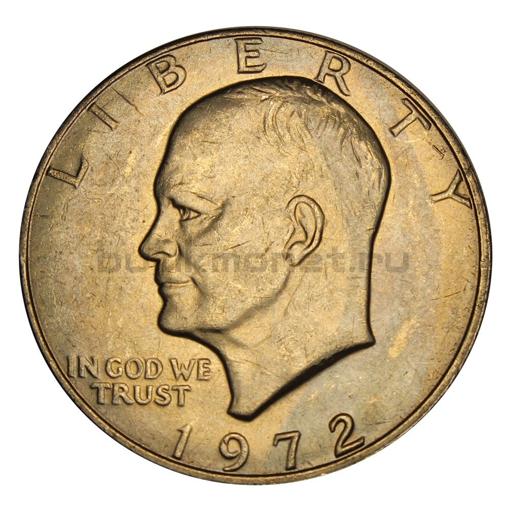 1 доллар 1972 США