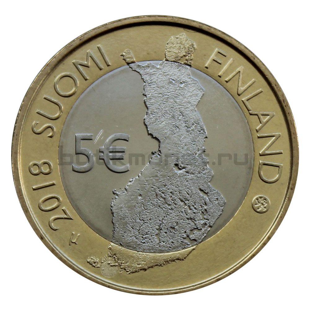 5 евро 2018 Финляндия Архипелаговое море (Финский пейзаж)