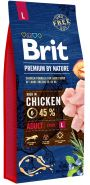 BRIT Premium by Nature Adult L Корм для взрослых собак крупных пород (15 кг)