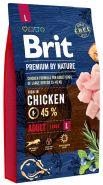 BRIT Premium by Nature Adult L Корм для взрослых собак крупных пород (8 кг)