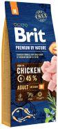 BRIT Premium by Nature Adult M Корм для взрослых собак средних пород (15 кг)