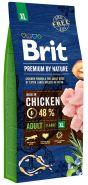 BRIT Premium by Nature Adult XL Корм для взрослых собак очень крупных пород (15 кг)