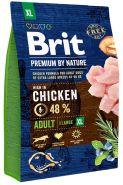 BRIT Premium by Nature Adult XL Корм для взрослых собак очень крупных пород (3 кг)
