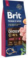 BRIT Premium by Nature Junior L Корм для молодых собак крупных пород (15 кг)