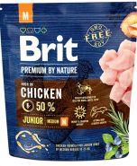 BRIT Premium by Nature Junior M Корм для молодых собак средних пород (1 кг)