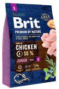 BRIT Premium by Nature Junior S Корм для молодых собак мелких пород (3 кг)