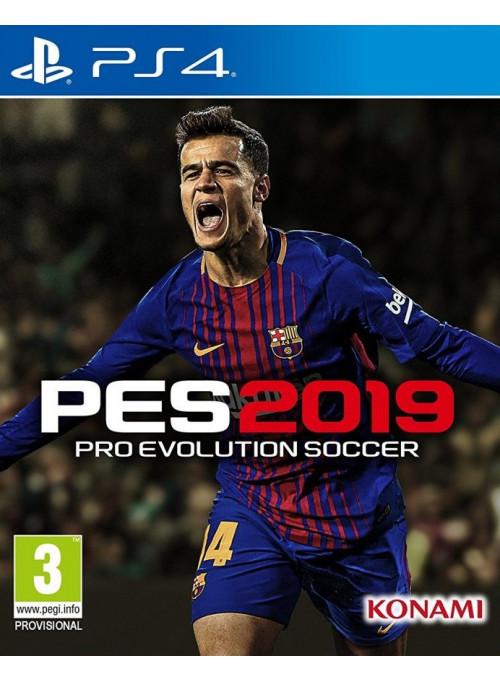Pro Evolution Soccer 2019  PS4 ( PES 19, русские субтитры )