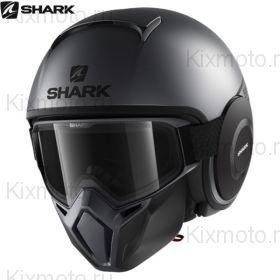 Шлем Shark Street Drak Neon Mat, Серый