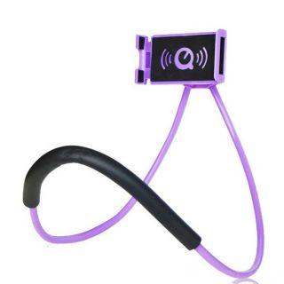 Универсальный держатель для смартфона на шею, Сиреневый