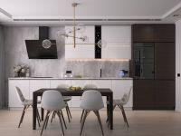 Кухня Legno Bravo Бело-Коричневая