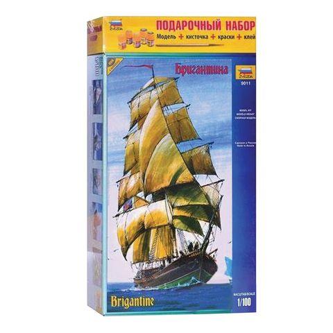 Парусный корабль Бригантина, Звезда, 9011П