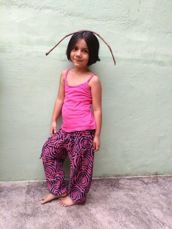 Детские шаровары из хлопка (отправка из Индии)