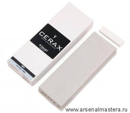 Брусок абразивный 320 Suehiro Cerax 205х73х23 мм с резиновой рамкой с нагурой Suehiro М00014392