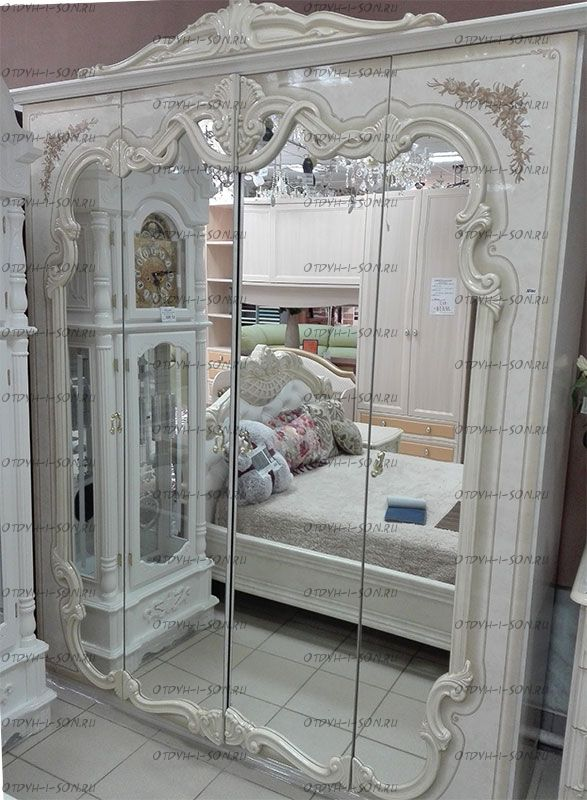 Шкаф 4-х дверный Диана Диа Мебель (187х55х223)