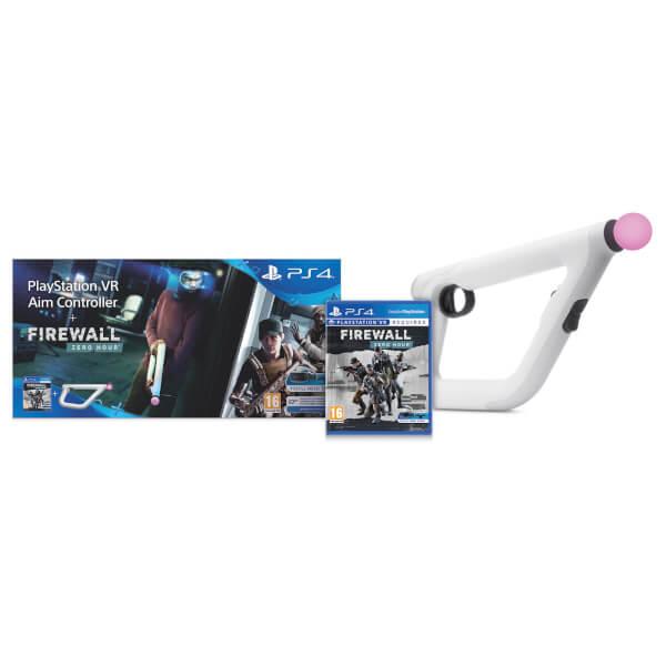 Контроллер прицеливания PS Aim VR + игра Firewall Zero Hour (только для VR)