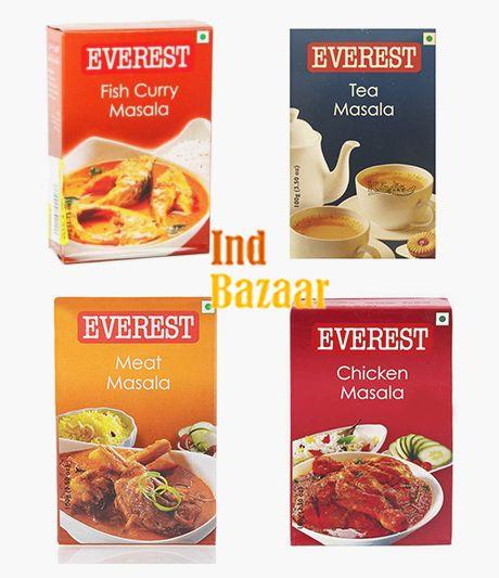 Смесь специй Everest Masala для чая, мяса, рыбы, курицы