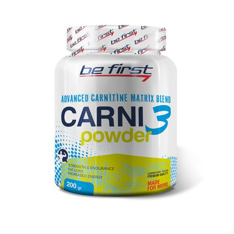 Be First - CARNI 3 Powder