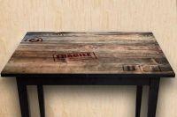 Наклейка на стол - Посылка для Робинзона |магазин Интерьерные наклейки
