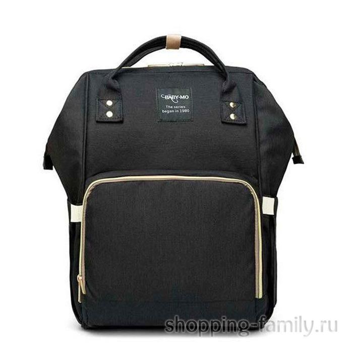 Сумка-рюкзак для мамы Mummy Bag, цвет черный