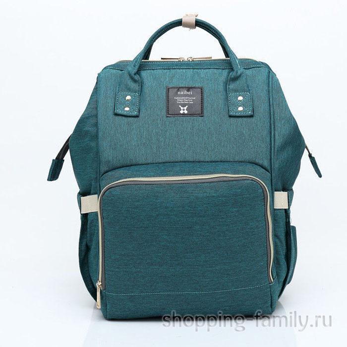 Сумка-рюкзак для мамы Mummy Bag, цвет темно-зеленый