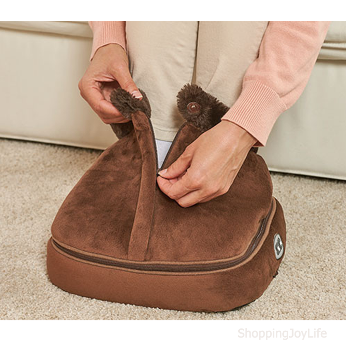 Тепловой массажёр для ног 2 in 1 Warm Massager