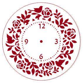 Трафарет для часов, ЭЛГ15-16, d=15 см