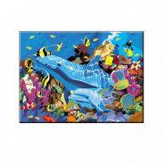 """Раскраска но номерам """"Подводный мир"""", А3 (арт. Р-5484)"""