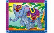 "Мозаика из пайеток ""Слоненок"", А4 (арт. М-4342)"