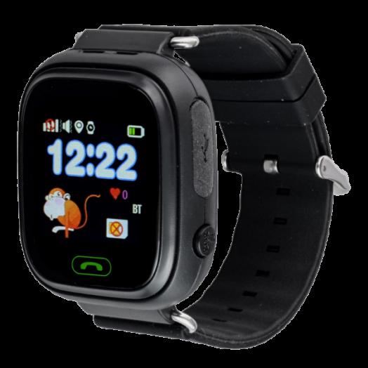 Часы детские с GPS GP-01 Чёрные
