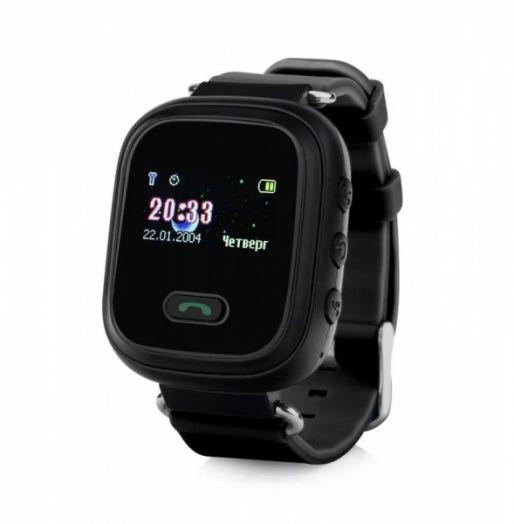 Часы детские с GPS GP-02 Чёрные