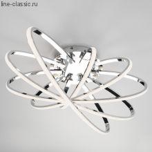 Светодиодный потолочный светильник  90100/5 хром