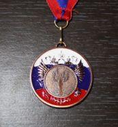 Медаль Наградная Победа с лентой 50 мм 3 место