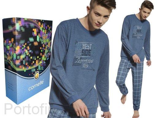 967-24 Пижама для мальчика дл.рукав Cornette