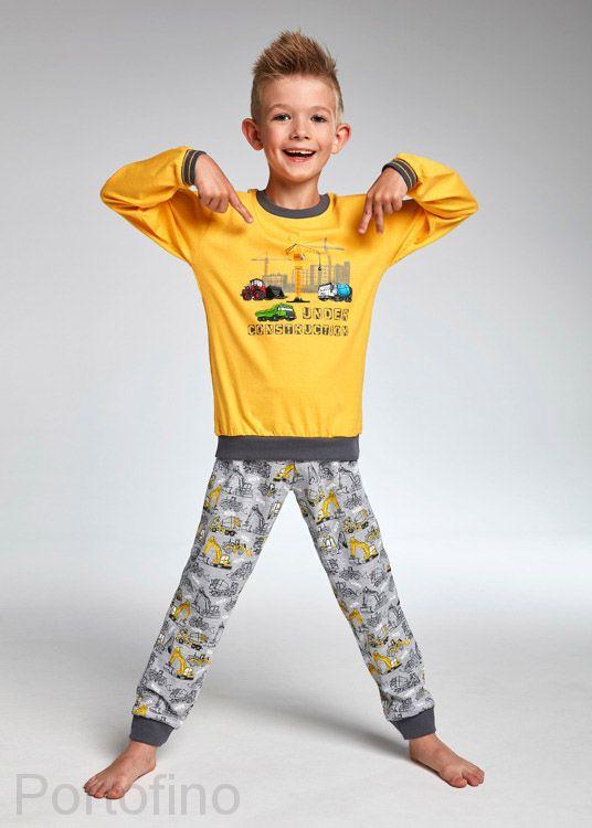 593-73 Пижама для мальчиков длинный рукав Cornette