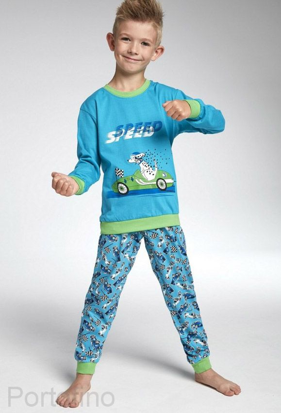 593-75 Пижама для мальчиков длинный рукав Cornette