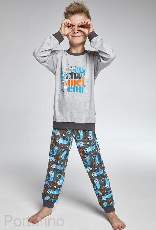 593-84 Пижама для мальчиков длинный рукав Cornette