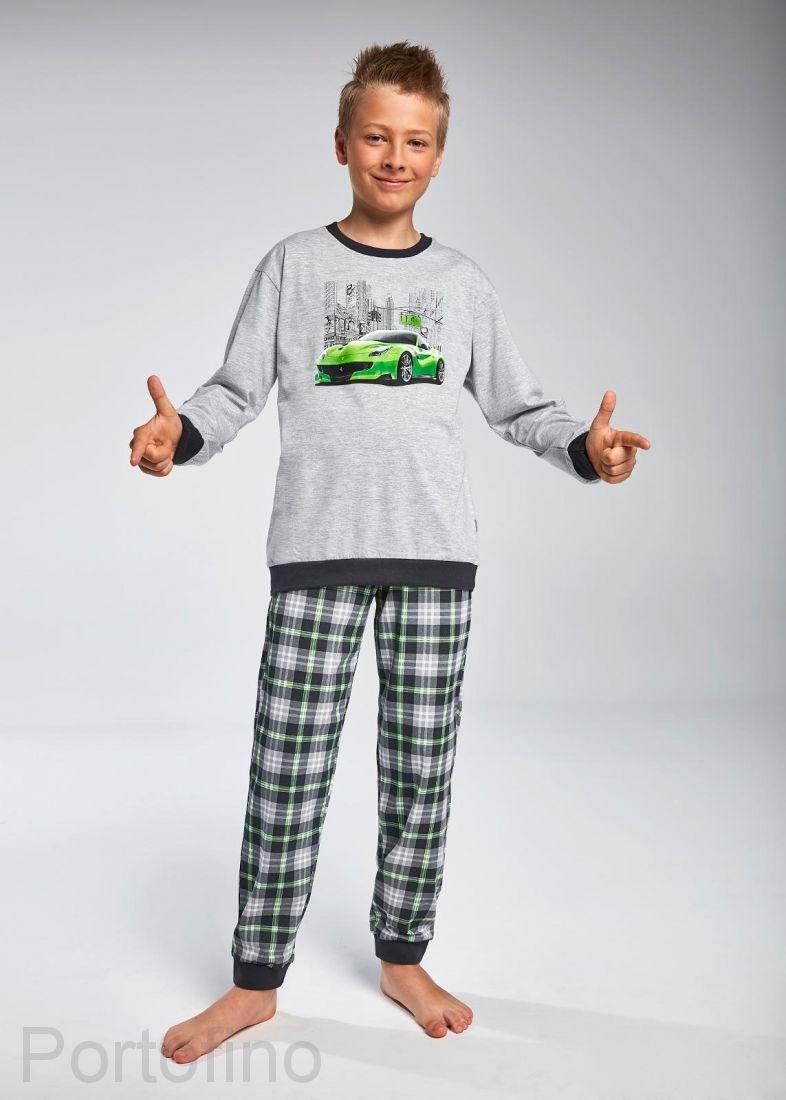 966-78 Пижама для мальчиков длинный рукав Cornette