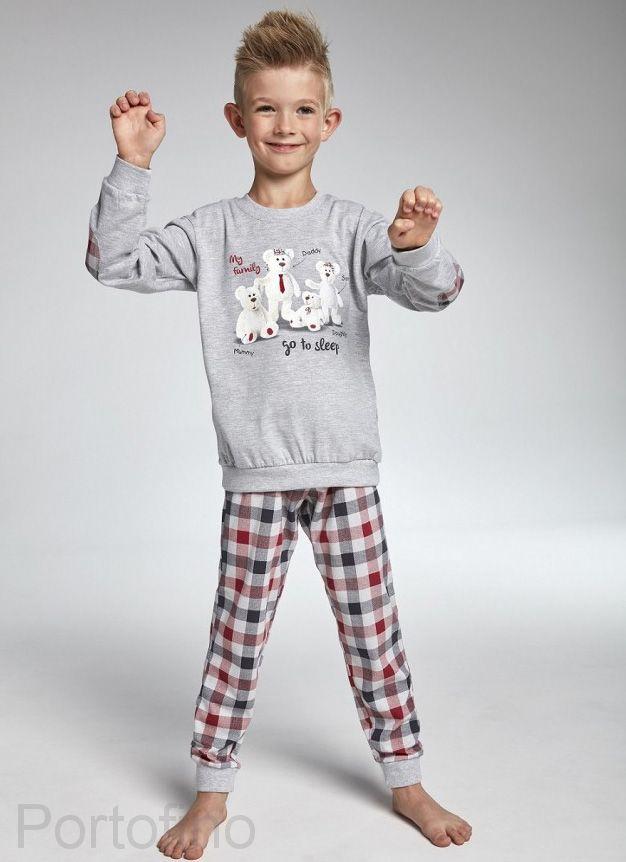 174-83 Пижама детская дл.рукав Cornette