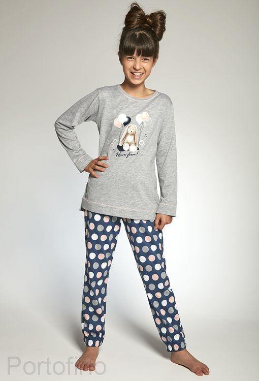 780-97 Пижама для девочек длинный рукав Cornette