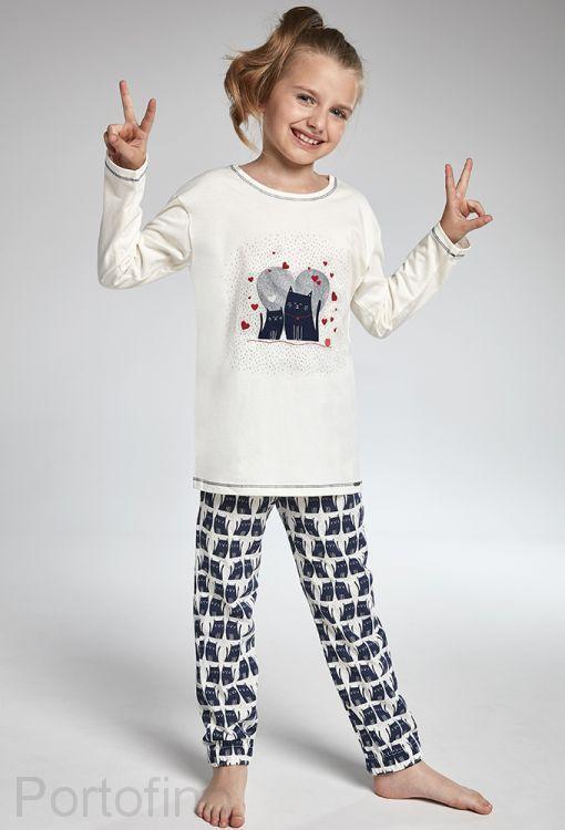 975-94 Пижама для девочек длинный рукав Cornette