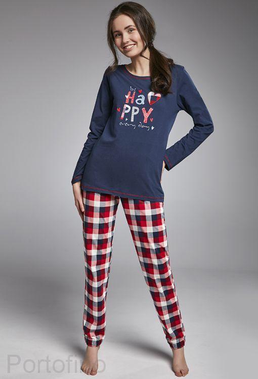 299-31 Пижама для девочек длинный рукав Cornette