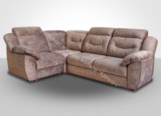 Вегас модульный угловой диван КО+У90+БД